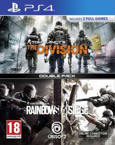 Tom Clancy's The Division + Rainbow Six Siege Double Pack (PS4) £14.86 Delivered @ Shopto