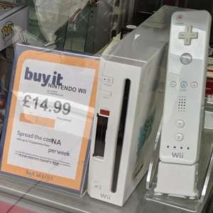 Now here's a great deal... Wii console £14.99 @ Cash Generator Bury