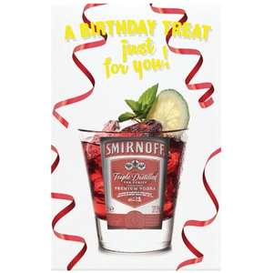 Smirnoff Vodka Shot Treat Set £2.49 @ B&M Bargains