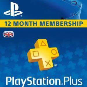 PlayStation Plus - 12 Month Subscription £33.99 @ CDKeys