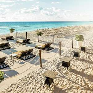 One way flight from Edinburgh to Cancun (Mexico) June departures / Including 20kg Hold Baggage, Inflight Meal £99.99 @ Thomas Cook Airlines