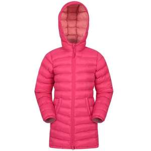 Mountain Warehouse - Florence Kids Longline Padded Jacket - £7.99 Delivered