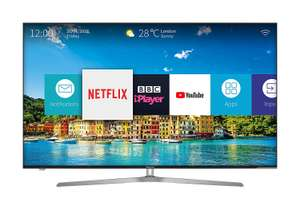 Hisense H65U7AUK 65-Inch 4K Ultra HD ULED Smart TV with HDR and Freeview Play - Silver/Black £799 @ Amazon