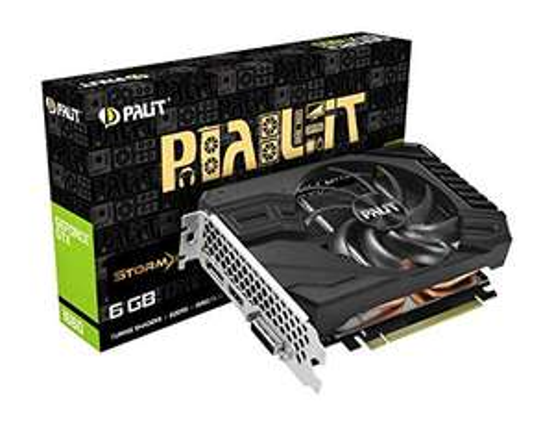 Palit GeForce GTX 1660 StormX 6GB GDDR5 VR Ready Graphics Card £181.98 at Aria