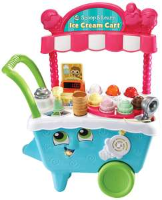 Leapfrog Scoop & Learn Ice Cream Cart £33.99 @ Amazon