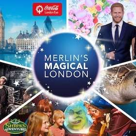 Merlin's London Pass 5 Attractions - London Eye + Madam Tussauds + London Dungeon + Sea Life + Shrek = £42.84 Adults / £34 Kids @ Expedia