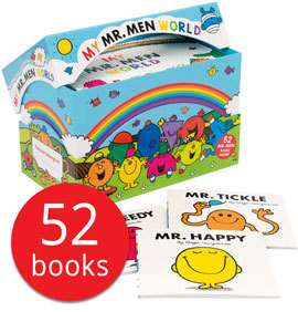 My Mr. Men World Collection - 52 Books @ Book People £27.99 Delivered With Code