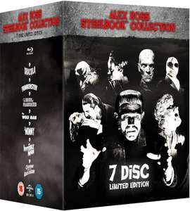 Universal Classic Monsters: Alex Ross Collection (Limited Edition Steelbook Box Set) [Blu-ray] £39.99 @ Zoom