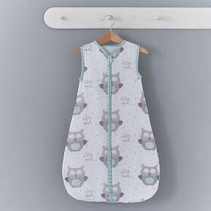 Baby's little owls 2.5 tog sleeping bag £7.50 at Dunelm free reserve and collect