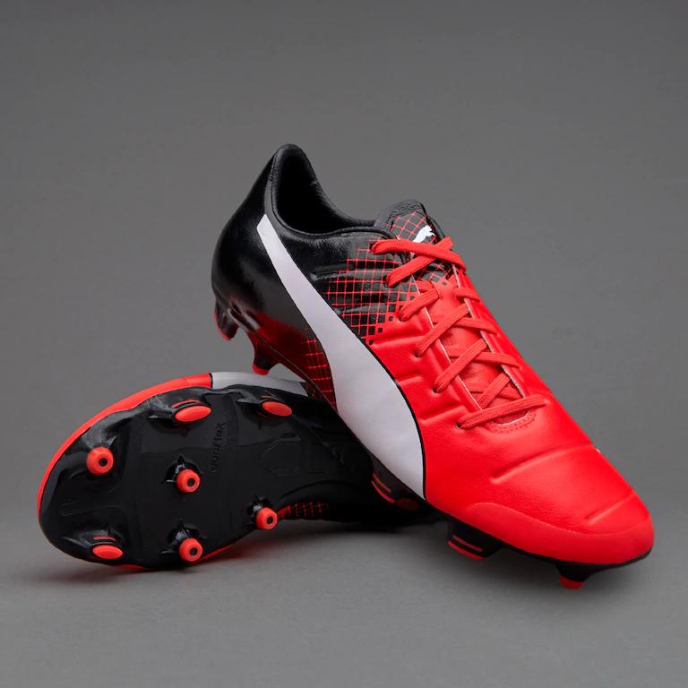 Prodirectsoccer.com - Puma evoPower 2.3 FG - Red Blast/Puma White/Puma Black £28.95 delivered