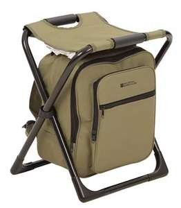 Stool With Cool Bag - Khaki - £10.39 delivered with code @ Mountain Warehouse