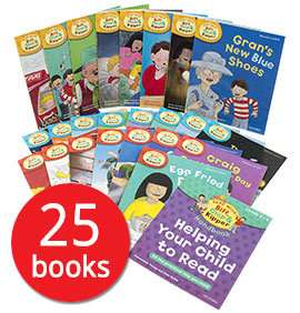 Read with Biff, Chip and Kipper Collection Levels 4-6 - 25 Books, 5+ years £14.39 / Levels 1-3 33 Books, 3+ years £15.99 @ The Book People