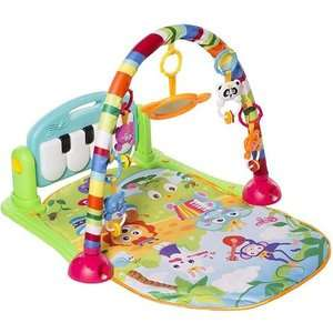 MooToys Kick and Play Piano Gym / Playmat £14.89 Delivered with promo @ Amazon - Sold By SLJ Trading and FBA