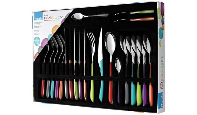 Amefa Eclat Kaleidoscope 24-Piece Cutlery Set £19.99 (C+C) £23.94 (Delivered) @ Robert Dyas
