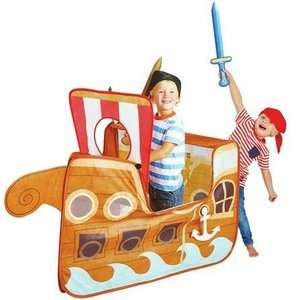 Chad Valley Pirate Ship Pop Up Play Tent was £20 now £13 / Peppa Pig Pop Up School Playhouse Tent was £20 now £13 C+C @ Argos