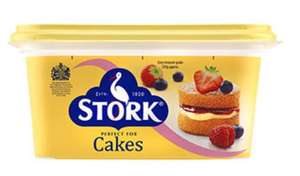Stork (250g)..perfect for cakes @ Heron Foods 3 for £1