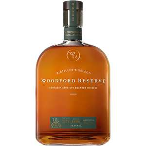 Woodford Reserve Kentucky Whiskey - Bourbon, Malt or Rye 70cl - £25 each @ Asda