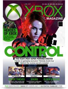 5 Print Issues of Xbox or Playstation: The Official Magazine £3.80 with code @ My Favourite Magazines