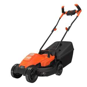 Black & Decker BEMW451BHGB 1200W Lawn Mower with Bike Handle £60.26 delivered with code @ Groupon