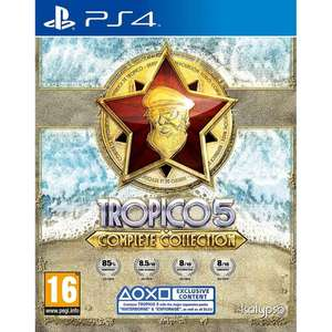 Tropico 5 Complete Collection PS4 Game £14.49 @ 365games