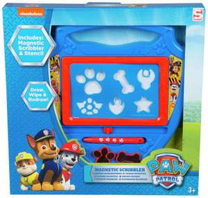 PAW Patrol Medium Magnetic Scribbler NOW £6 free click and collect at Argos