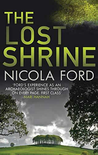 The Lost Shrine - crime fiction - Kindle Edition 98p Amazon