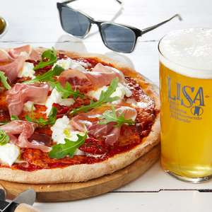Celebrate Fathers Day with a Free Pint with  a main course order @ Bella Italia