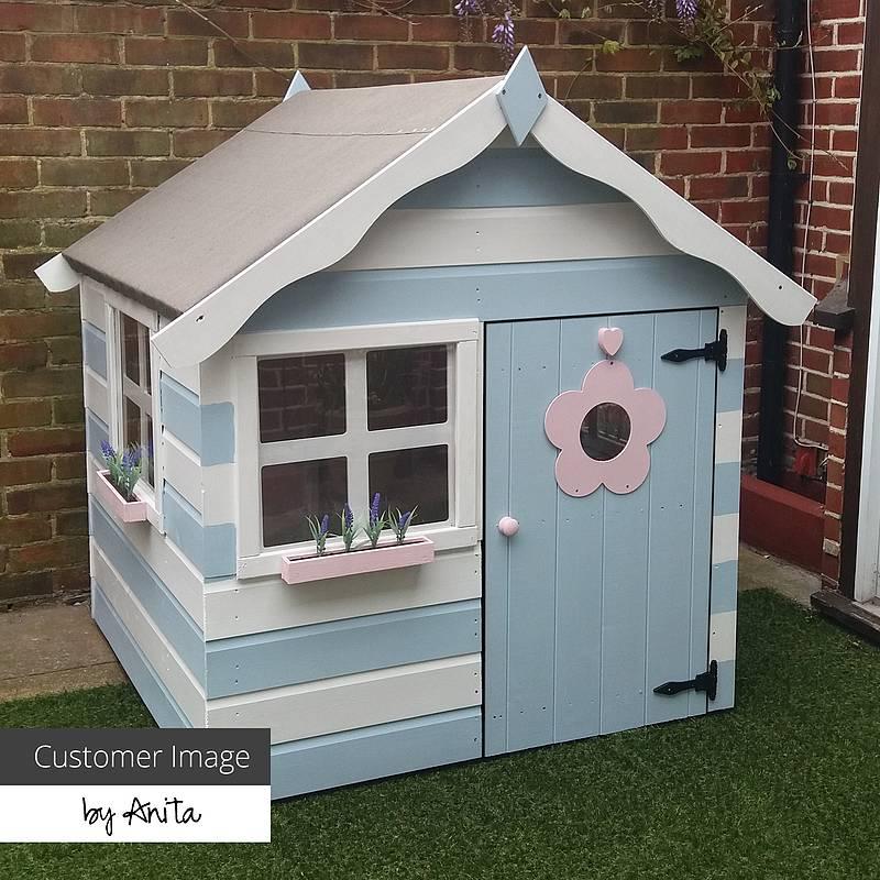 4 x 4 Waltons Honeypot Snug Apex Wooden Playhouse - £199 @ Walton Garden Buildings