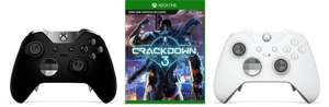 Xbox One Elite Controller & Crackdown 3 for £129.99 at Microsoft Store
