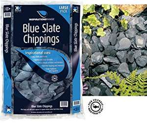 Blue Slate 20mm chippings at Asda instore - 3 for £9 (20kg bags)