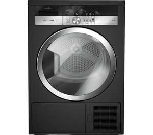 GRUNDIG GTN38250MGCB 8 kg Heat Pump Tumble Dryer - Black  A++ 5 year Guarantee - £404 @ Currys