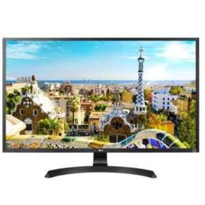 "LG 32UD59 computer monitor 81.3 cm (32"") 4K Ultra HD LED Flat Black refurbished - £296.88 (With Code) @ techsave2006 / eBay"