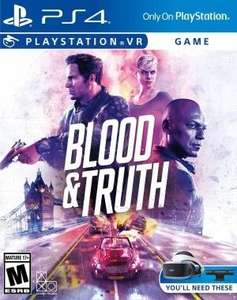 Blood & Truth (PS4, PSVR) £19.99 with code @ Currys