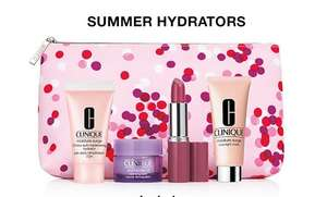 Your choice of a FREE gift on a £35 spend (£31.50 New customers & students) 6% TCB + samples & Free delivery @ Clinique