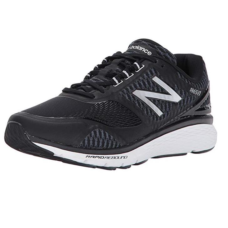 2cd71936fee41 New Balance Men's MW1865V1 Multisport Indoor Shoes MW1865BS Black & Silver  - £40 @ Amazon