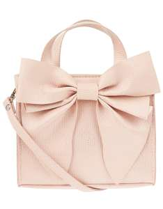 Pink Bow Tote Bag £4.80 @ Monsoon free Delivery with code and free C&C