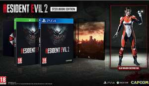 Resident Evil 2 Limited Steelbook Edition (Amazon Exclusive) PS4/XB1 £36.99 @ Amazon