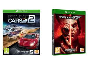 Tekken 7 & Project Cars 2 Bundle (Xbox One) for £14.99 @ Currys
