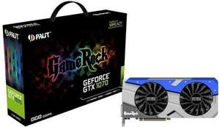 Palit Gamerock NVIDIA GeForce GTX 1070/1070 TI GDDR5 Graphics Card £235/299 at Box