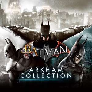 Batman: Arkham Collection - Inc All DLC PS4 (Digital) £14.99 with PS Plus @ PlayStation Store