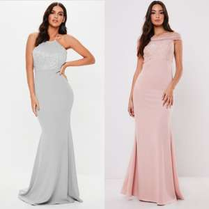 Beautiful Bridesmaid Dresses from £19.60 - get an extra 30% Off Occasion wear & Bridesmaid Dresses with code @ Missguided