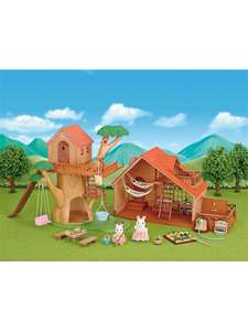 Sylvanian Families Tree House and Log Cabin gift set £49.99 C&C or £53.49 delivered at John Lewis & Partners