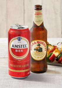 Collect 850 bonus Nectar points with Heineken - Buy any Amstel 4×440ml or Birra Moretti 4×330ml in store or online at sainsburys