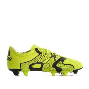 adidas X 15.2 FG AG Leather Football Boots £18.95 delivered Sizes 6 to 10.5 @ Getthelabel