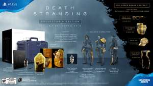 Death Stranding [GAME Exclusive] Collector's Edition. With life-sized pod + baby - £174.99 @ GAME