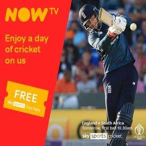 Free Sky Sports Day Pass Existing Accounts @ Now TV (Check emails)