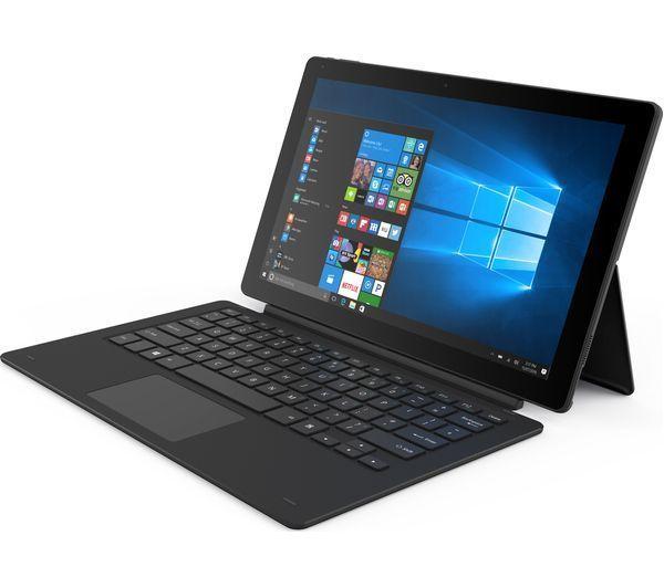 "Refurbished Linx 12X64- 12.5"" Full HD 2 in 1 Laptop Tablet Intel Atom, 4GB RAM, 64GB, Win 10 at Ebay/LaptopOutlet £93.49"