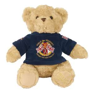 Help for Heroes - 10Th Anniversary Hero Bear £6 delivered with code @ Debenhams