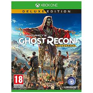 Tom Clancys Ghost Recon: Wildlands Deluxe Edition (Xbox One) - £10 (Free C&C) @ Game