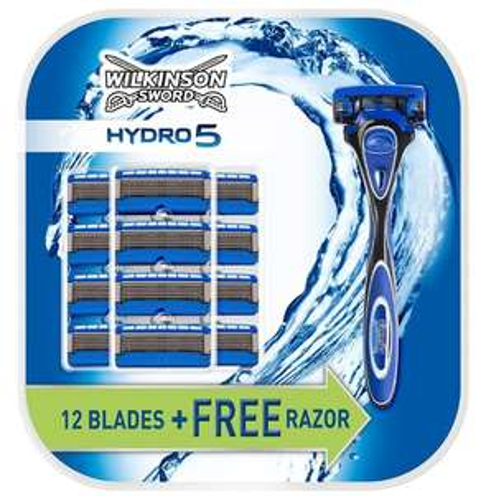 Wilkinson Sword Hydro 5 (13 blades plus a handle) £14.99 @ Wilkinson Sword
